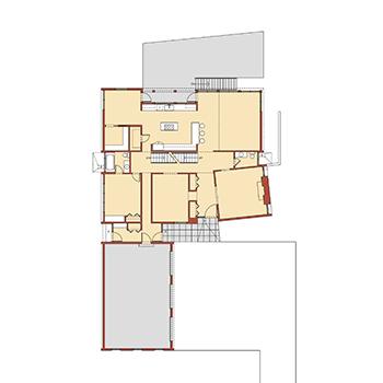 Center Hall Modern