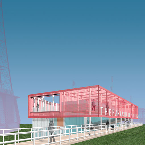 Parachute Pavilion – Coney Island